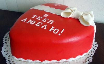 как приготовить торт серце